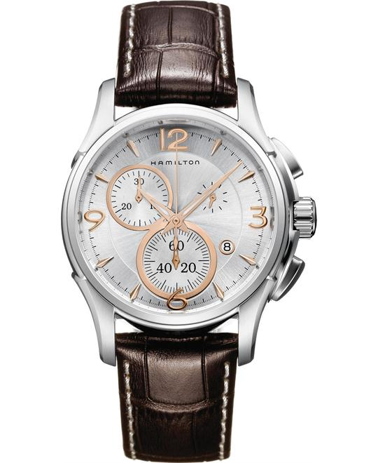 Hamilton Jazzmaster Chronograph Swiss Watch 42mm