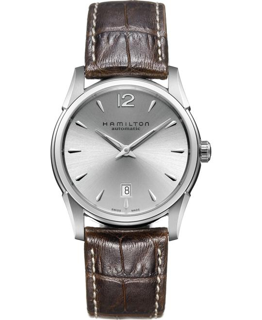 Hamilton Men's Swiss Automatic Leather 40mm