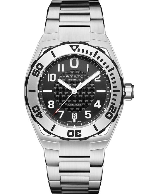 Hamilton Men's Swiss Automatic Steel 42mm