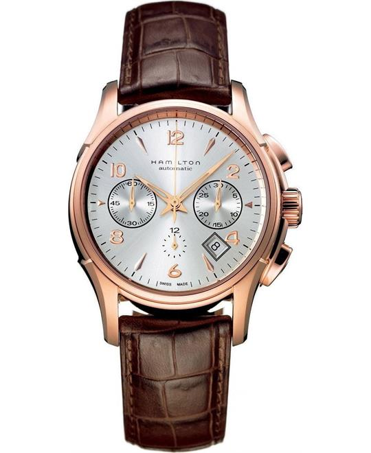 Hamilton Automatic Chronograph Rose Gold-tone Mens Watch 42mm