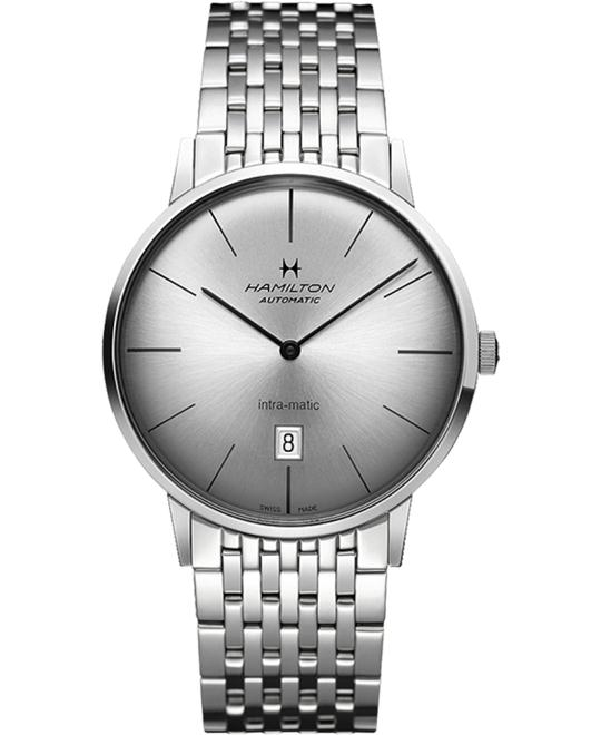 HAMILTON Intra-Matic Ultra-slim Automatic Men's Watch 42mm