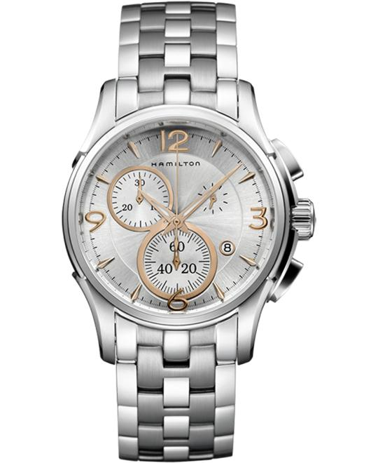 HAMILTON Jazzmaster Chronograph Watch 42mm