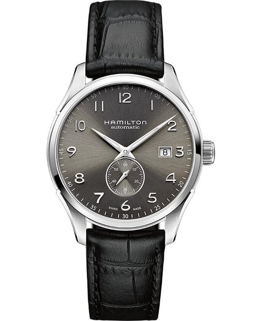 HAMILTON Jazzmaster Maestro Grey Leather Watch 40mm