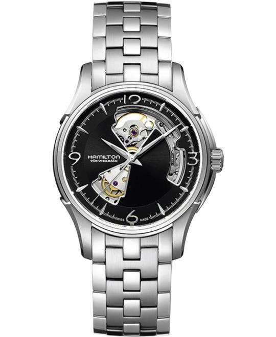 HAMILTON Jazzmaster Open Heart Automatic Watch 40mm