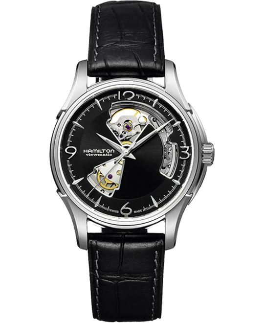 HAMILTON Jazzmaster Open Heart Automatic Watch 40mm