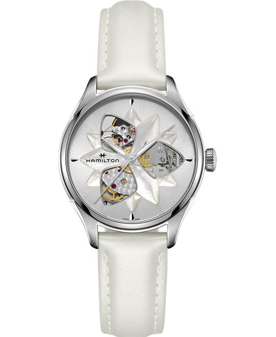 HAMILTON Jazzmaster Open Heart Lady Automatic Watch 34mm