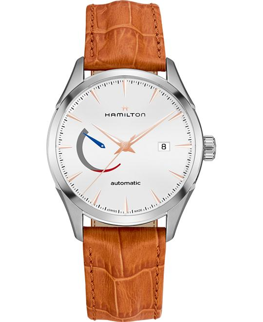 HAMILTON JAZZMASTER POWER RESERVE WATCH 42MM