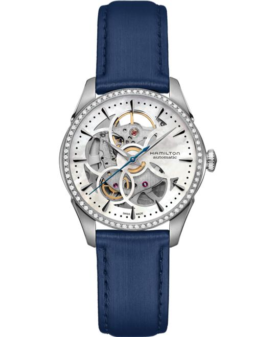 Hamilton Jazzmaster Viewmatic Skeleton Lady Watch 36mm