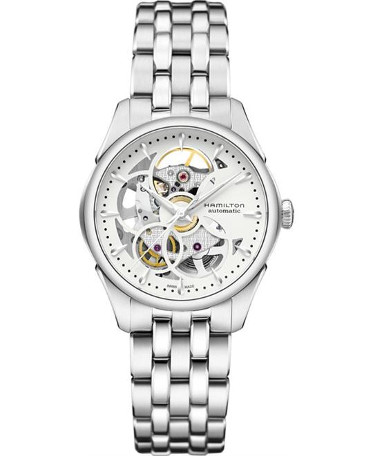 Hamilton Jazzmaster Viewmatic Skeleton Watch 36mm