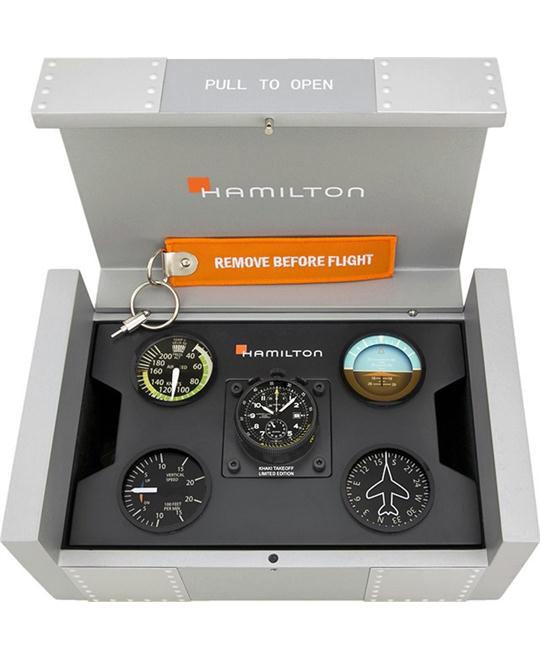 HAMILTON Khaki Aviation Takeoff Automatic Watch 46mm