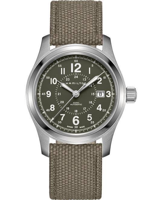 HAMILTON Khaki Field Olive Automatic Watch 42mm