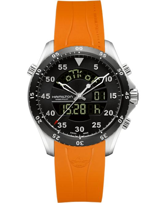 HAMILTON Khaki Flight Timer Dual Watch 40mm