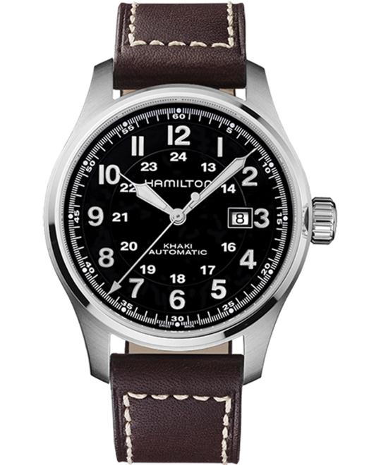 HAMILTON Khaki Officers Automatic Watch 44.5mm