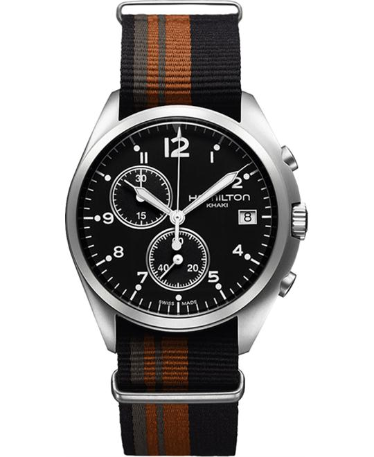 HAMILTON Khaki Pioneer Pilot Black Watch 41mm