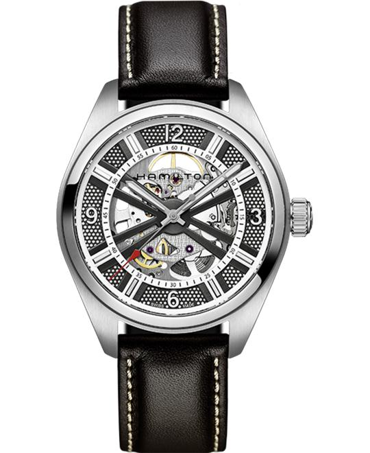 Hamilton Khaki Skeleton Swiss Automatic Watch 42mm