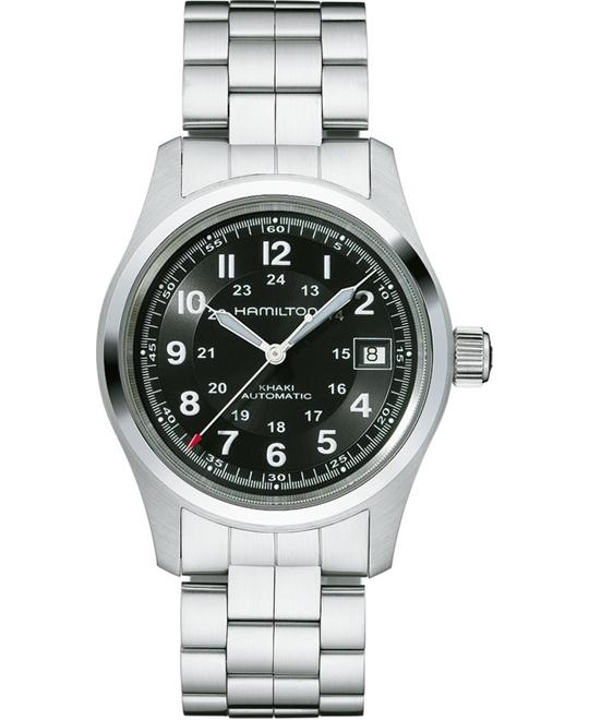 HAMILTON Khaki Field Automatic Black Watch 38mm