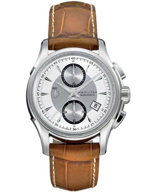 Hamilton Men's Swiss Automatic Leather  42mm