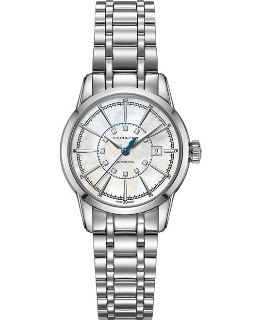HAMILTON RAILROAD MOTHER OF PEARL WATCH 32MM