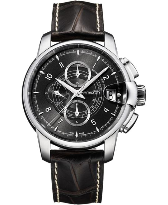 HAMILTON Timeless Classic Railroad Automatic Watch 46mm