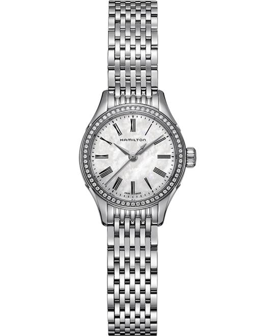 HAMILTON Timeless Classic Valiant Diamond Watch 27mm