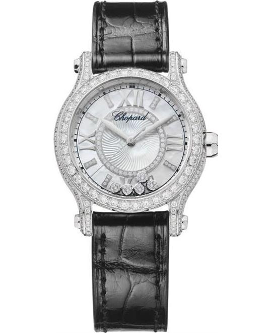 Chopard Happy Sport 274302-1001 Auto 18k Diamonds 30mm