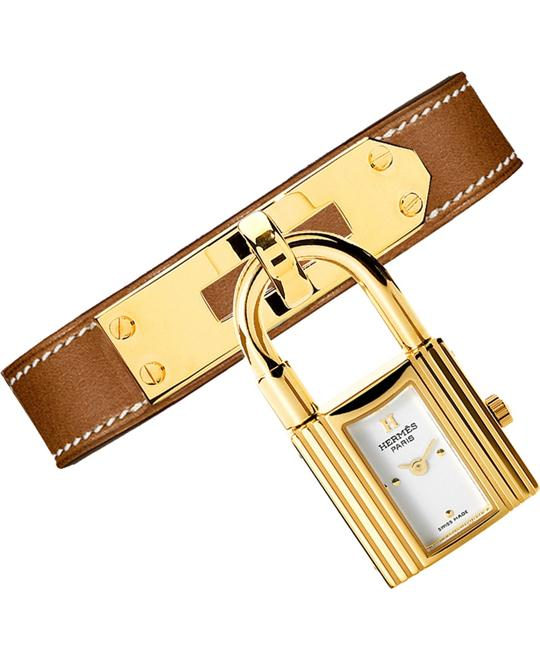 Hermes 026732WW00 Kelly Ladies Gold Plated 20x20mm