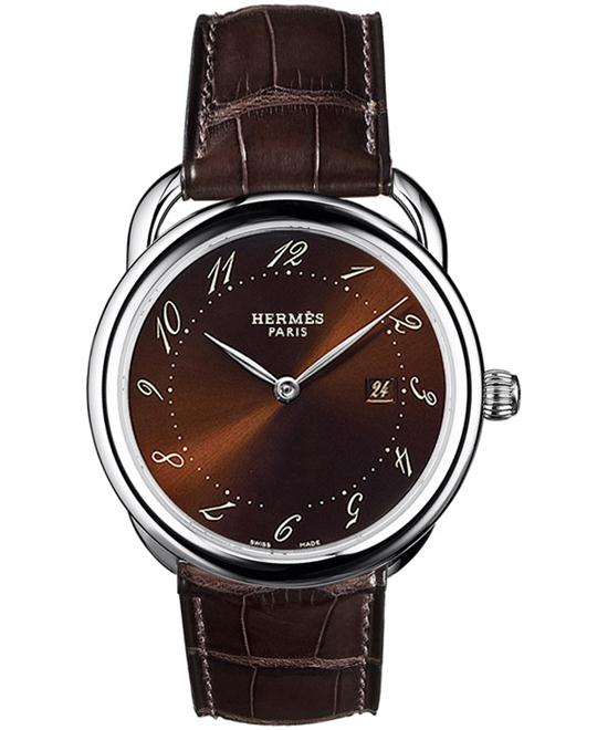 Hermes 026871WW00 Arceau Quartz GM Midsize 38mm