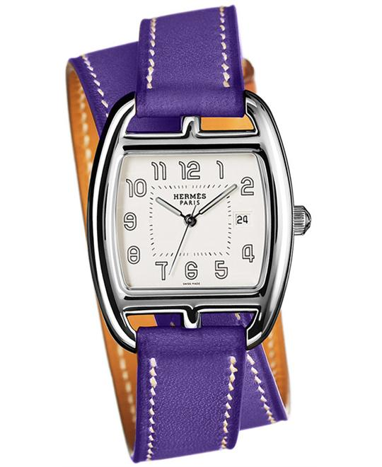 Hermes 038616WW00 Cape Cod Tonneau Medium GM 30x33mm