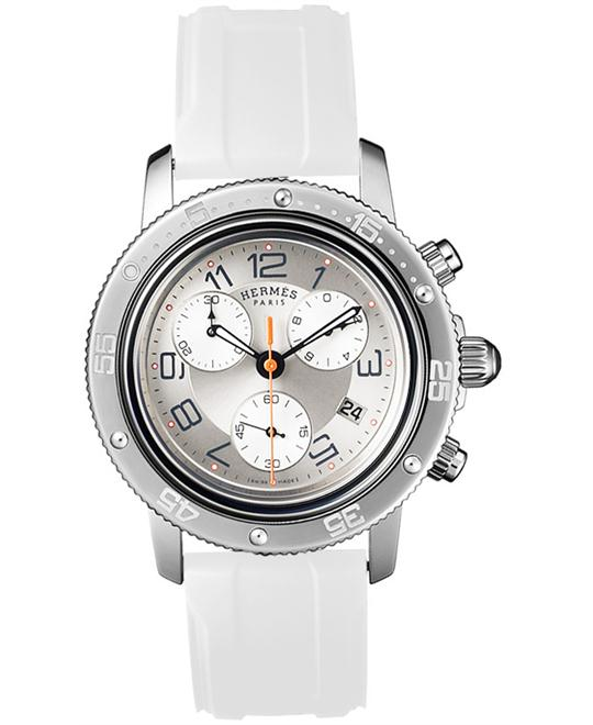 Hermes 035366WW00 Midsize Rubber White 36mm