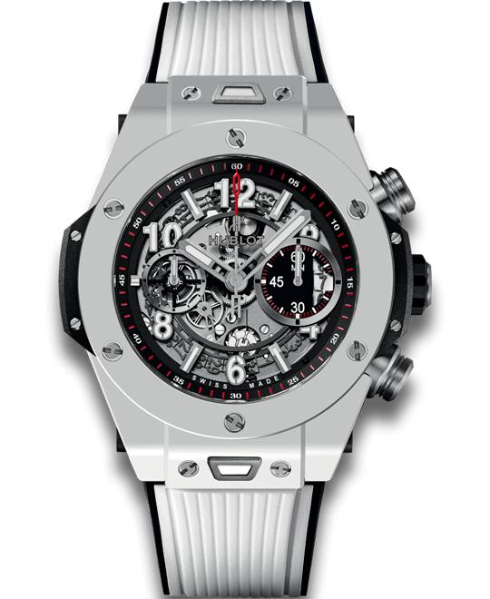 Hublot Big Bang Unico White Ceramic 411.HX.1170.RX 45mm