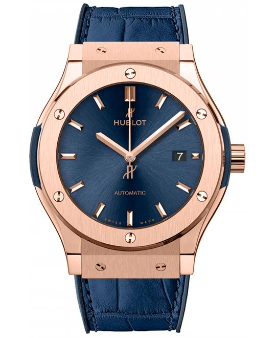 Hublot Classic Fusion Blue King Gold 542.OX.7180.LR 42mm