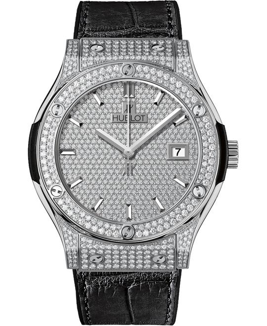 Hublot Classic Fusion Diamond Pave 581.NX.9010.LR.1704 45mm