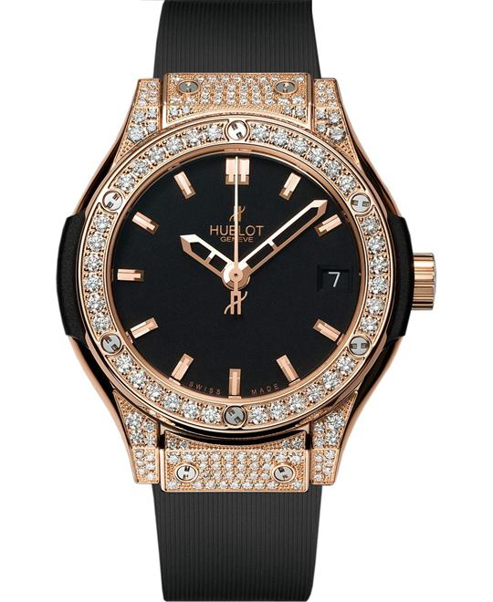 Hublot Classic Fusion Diamonds Pavé 581.OX.1180.RX.1704 33mm