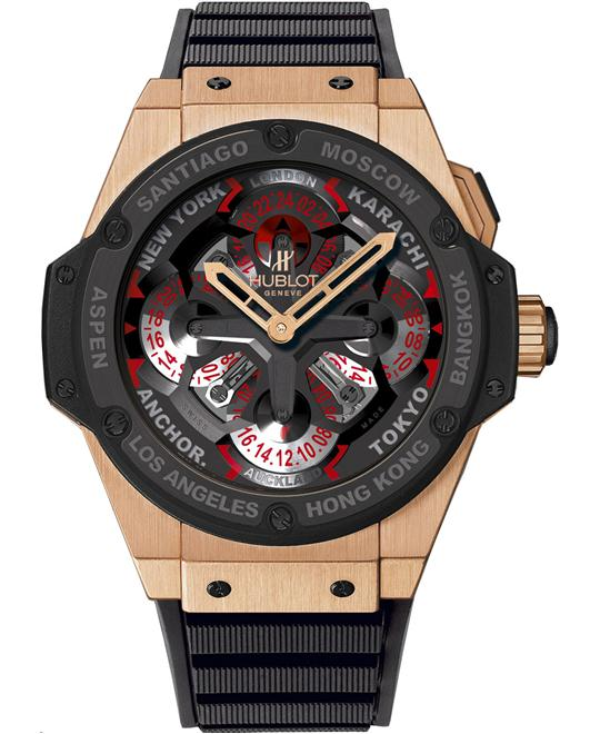 Hublot King Power Unico Gold GMT 771.OM.1170.RX 48mm