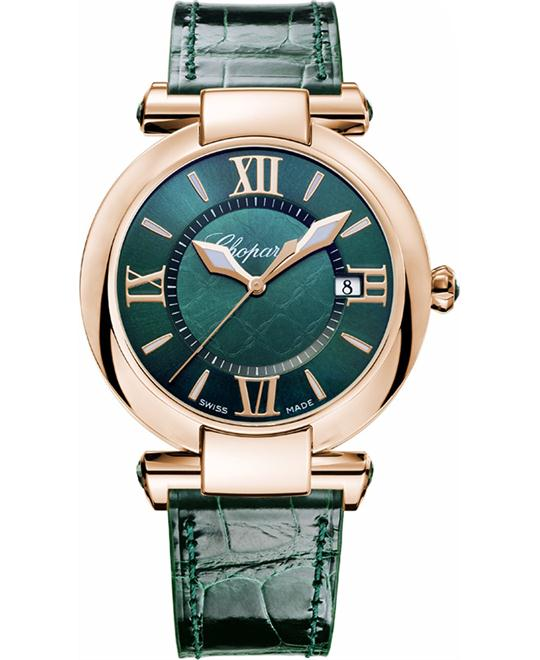 IMPERIALE 18-CARAT GREEN TOURMALINES 36MM