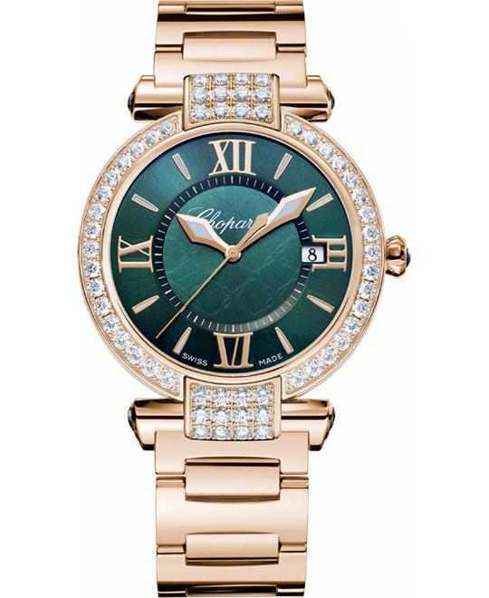 Chopard 384221-5016 IMPERIALE 18-CARAT GREEN DIAMONDS 36MM