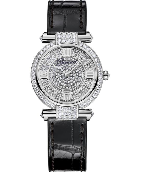 Chopard Imperiale 384280-1001 18k White And Diamonds 28mm
