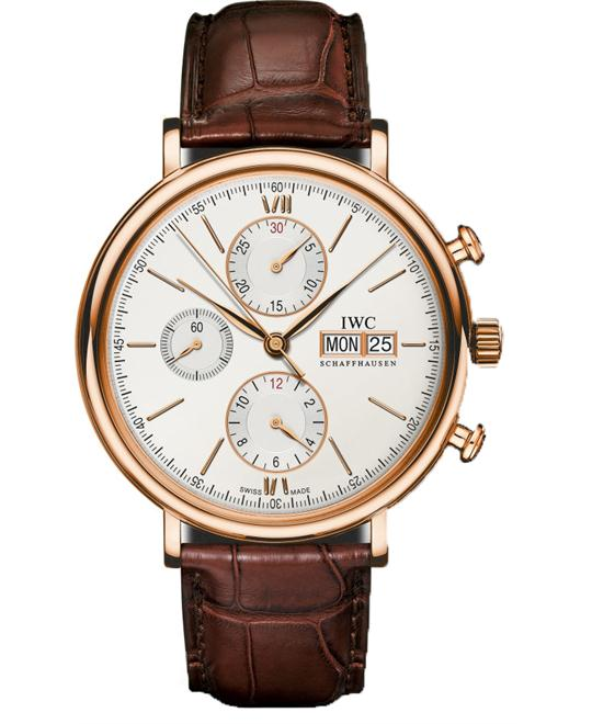 IWC IW391020 Portofino 18kt Chronograph Watch 42mm