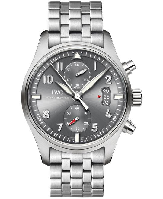 IWC Mens Sapphire Chronograph Stainless Steel 43mm