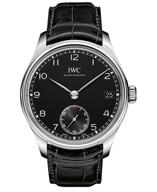 IWC IW510202 Mens Sapphire Stainless Steel Leather 43mm