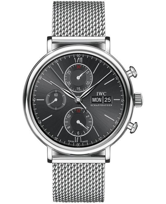IWC IW391010 Mens Stainless Steel Chronograph 42mm