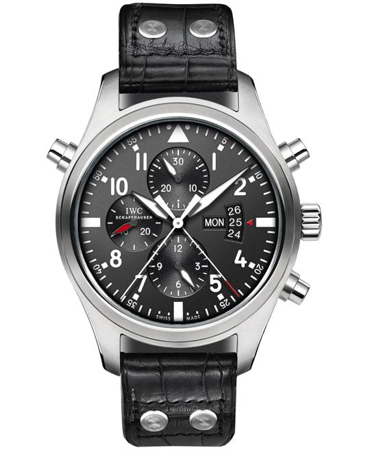 IWC IW377801 Mens Stainless Steel Leather 46mm