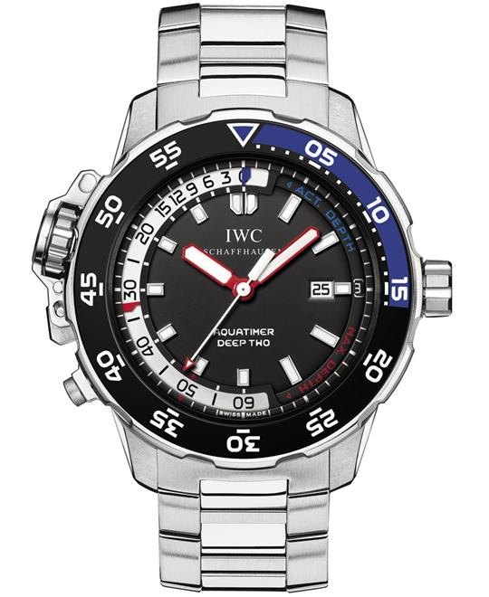 IWC Mens Stainless Steel Sapphire 46mm