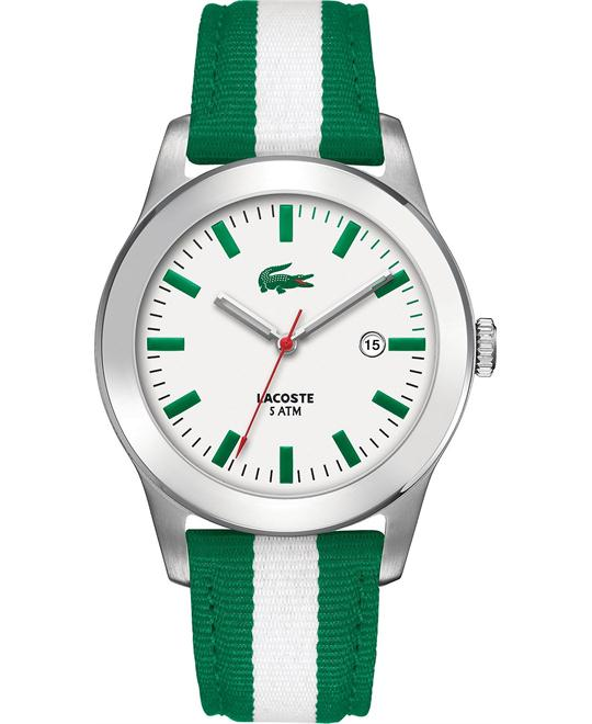 Lacoste Men's Advantage Green- White Watch 42mm