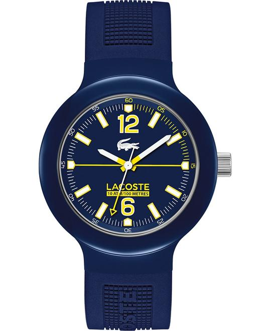 Lacoste Watch, Men's Blue Silicone 44mm