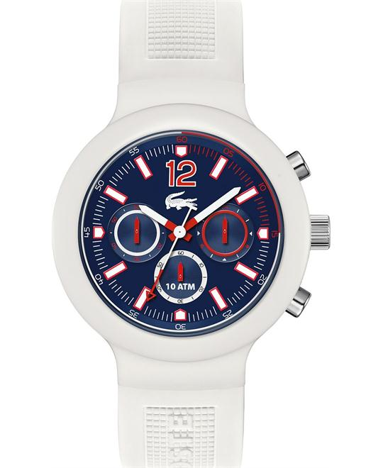 Lacoste Watch, Men's Chronograph Silicone, 44mm