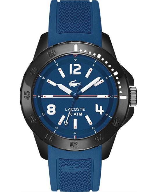 Lacoste Watch, Men's Fidji Blue Silicone 46mm