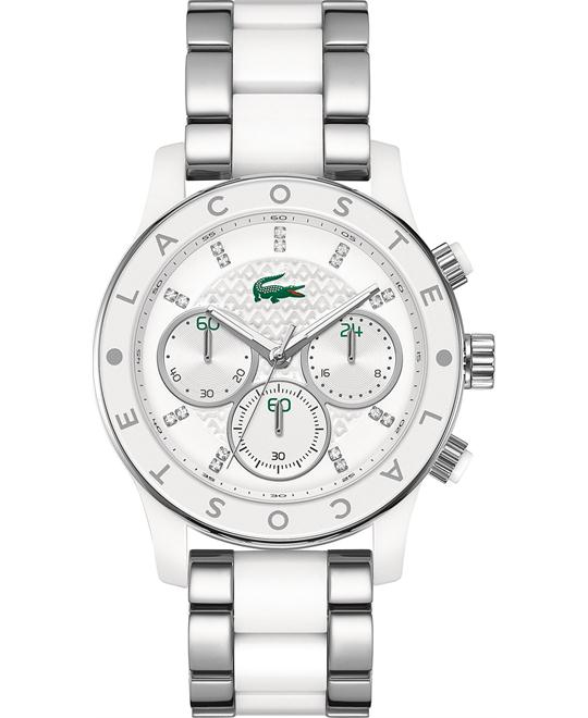 Lacoste Watch, Women's Chronograph - White 40mm