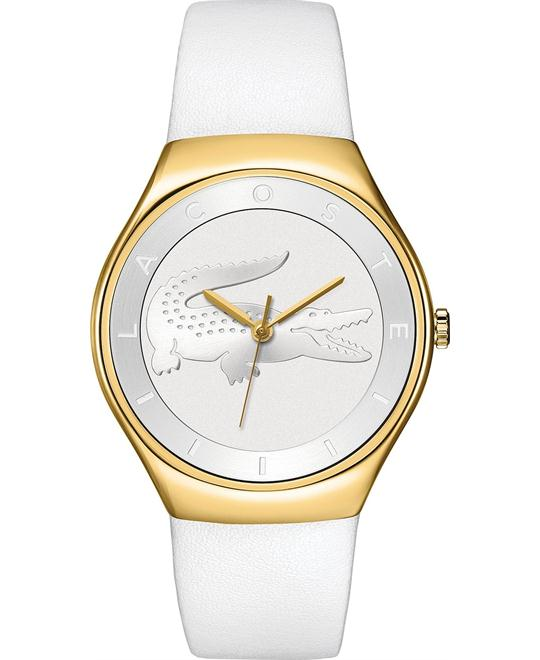 Lacoste Watch, Women's Valencia White 38mm
