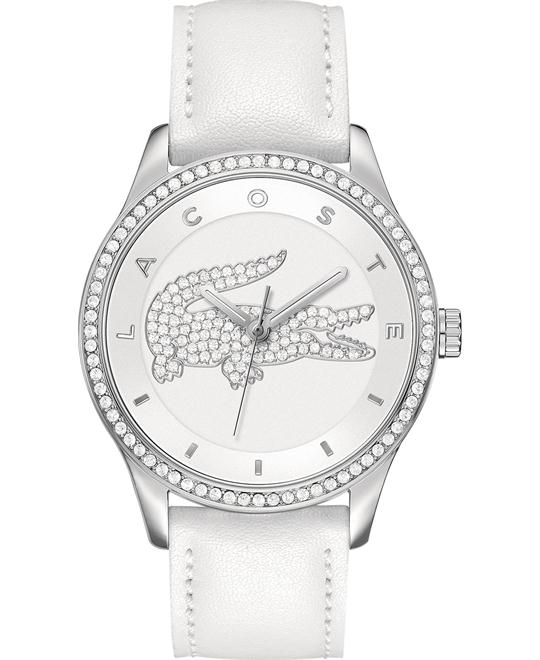 Lacoste Watch, Women's Victoria White 40mm